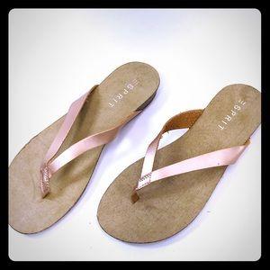 ESPRIT Metallic Flip Flops 9.5